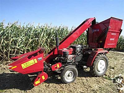 科丰4YW-2背负式玉米收获机