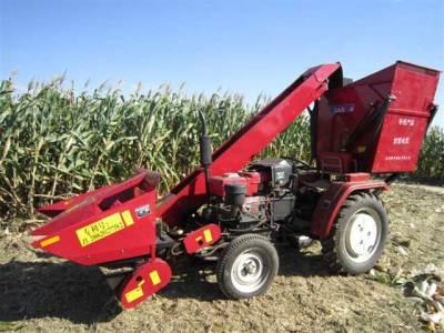 田霸4YW-2背负式玉米收割机