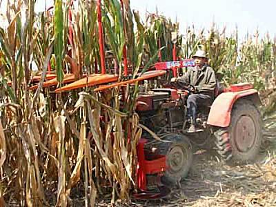 农哈哈4G-2.2C玉米秸秆割晒机