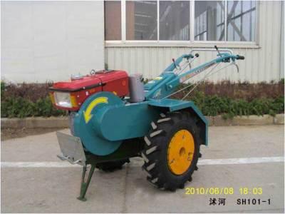 沭河SH101-1J皮带传动手扶拖拉机