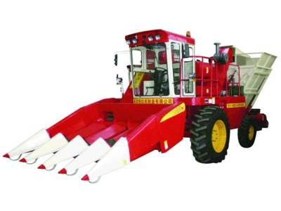 天津天拖鐵牛4YZ-4自走式玉米收割機