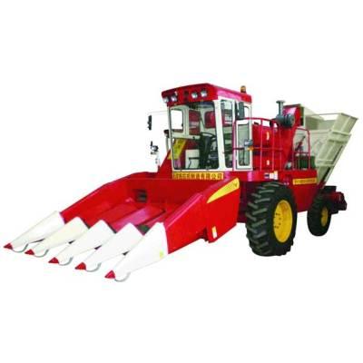 天津天拖铁牛4YZ-4自走式玉米收割机
