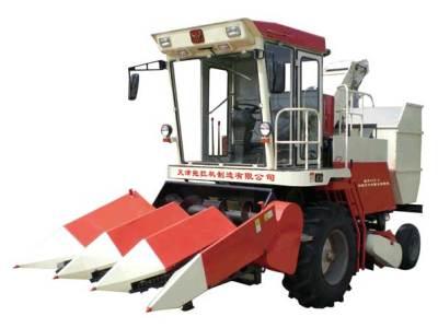 铁牛4YZ-3自走式玉米收获机