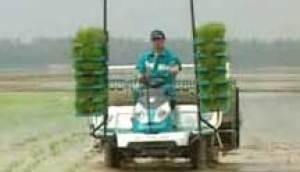 久保田NSPU-68C乘坐式高速水稻插秧機視頻