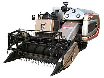 莱恩4LZ-2.5A自走履带式谷物联合收割机