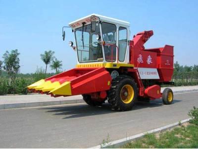 飞象4YZ-3不对行玉米收割机