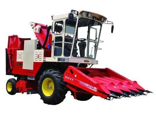 花溪玉田4YZB-4型自走式玉米联合收获机