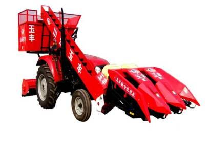 玉丰之王4YW-3背负式玉米收割机