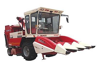 山东玉丰4YZ-3玉米收割机