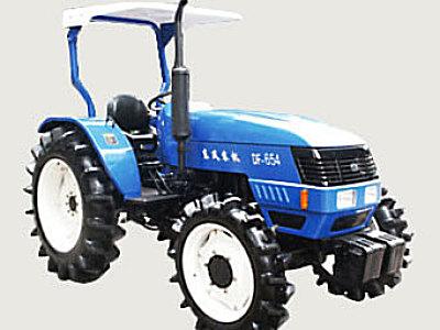东风654四轮驱动拖拉机