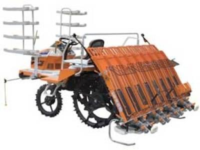浙江小精BP80乘坐式高速水稻插秧机