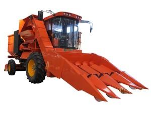哈肯4YZ-4自走式玉米收获机