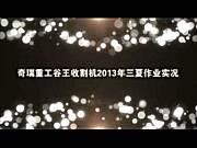 谷王收割机2013年三夏作业实况