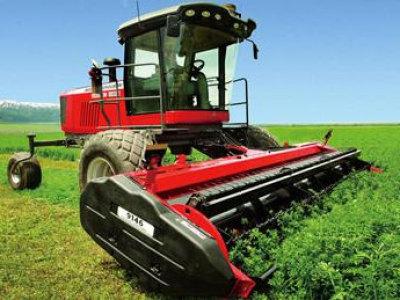 麦赛福格森WR9740型自走式割草压扁机