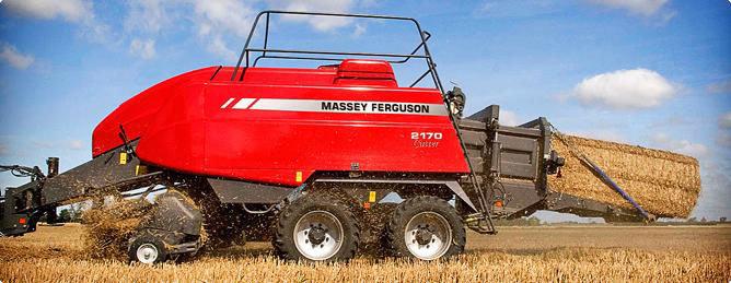 麦赛福格森牧草与秸秆收获设备MF2100系列打捆机
