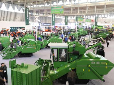 奇瑞重工参展第七届中国(江苏)国际农业机械展览会