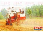 平度市调度15万台农机保丰收