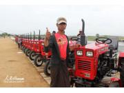 中国助力缅甸农业机械化