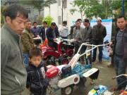 广西金城江农户掀起购买补贴农机热