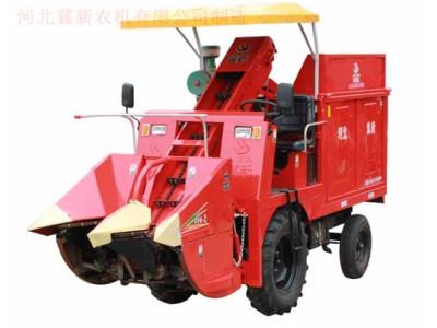 冀新4YZ-2自走式玉米联合收获机
