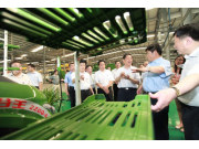 全国人大常委会副委员长张平盛赞奇瑞重工科技创新能力