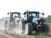米其林农业轮胎在新疆举行性能对比测试