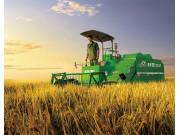 推荐!谷王系列水稻收割机视频 视觉享受