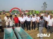山东菏泽玉米收获保护性耕作机械化现场会