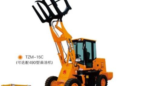天晟TZM15轮式抓草机