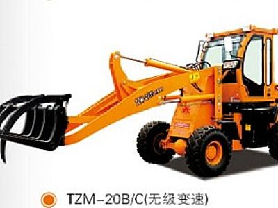 天晟TZM20轮式抓草机