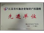 """常发集团荣获""""江苏省实施企业知识产权战略先进单位""""称号"""""""