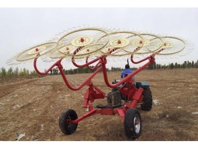 中農機9LZ-8型指盤式摟草機