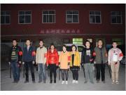 """渭南市农机局开展""""平安渭南、和谐渭南""""社区巡查活动"""