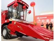 勇猛新型玉米机在宝坻下线 获国家专利优势明显