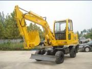 勇马重工YML60轮式挖掘机