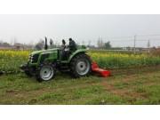 耕王拖拉机在安徽春耕中大显身手