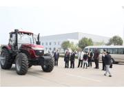 加纳农业食品部部长多来五征集团访问