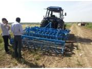 德国雷肯鲁宾圆盘耙在苏皖两省农场演示取得圆满成功
