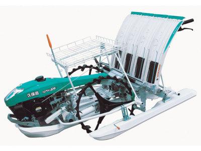 久保田SPW-48C手扶步进式水稻插秧机