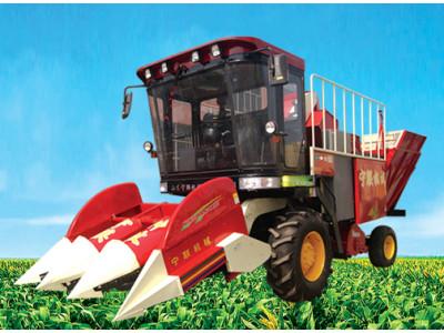 宁联4YZ-3C型自走式玉米联合收获机