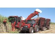 凱斯7000型甘蔗聯合收割機落戶廣西