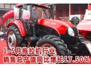 2008年1-5月拖拉机行业简述