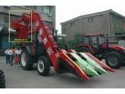 山拖农装推出新款玉米收获机