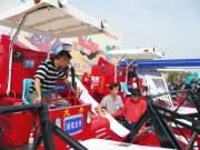 中天龙舟参展湖南2009年农机展(图)
