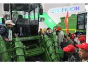 中联重机高端甘蔗机亮相国际农机展 138万元样机当场被订购