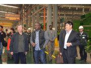 非洲农机代表团访问中联重机