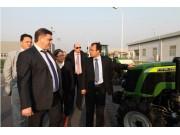 俄罗斯农机代表团访问中联重机