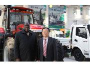 科特迪瓦驻华大使多索·阿达马来五征访问