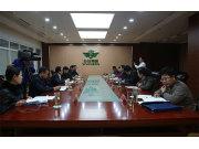 山东省地税局领导来五征调研援疆工作