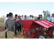 呼和浩特市:開展拖拉機無人駕駛演示會